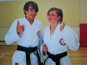karate gradings black belt