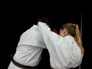 self defence elbow strike