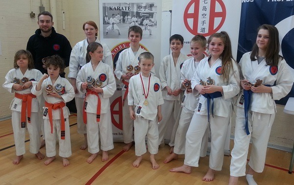 Karate Competition winners